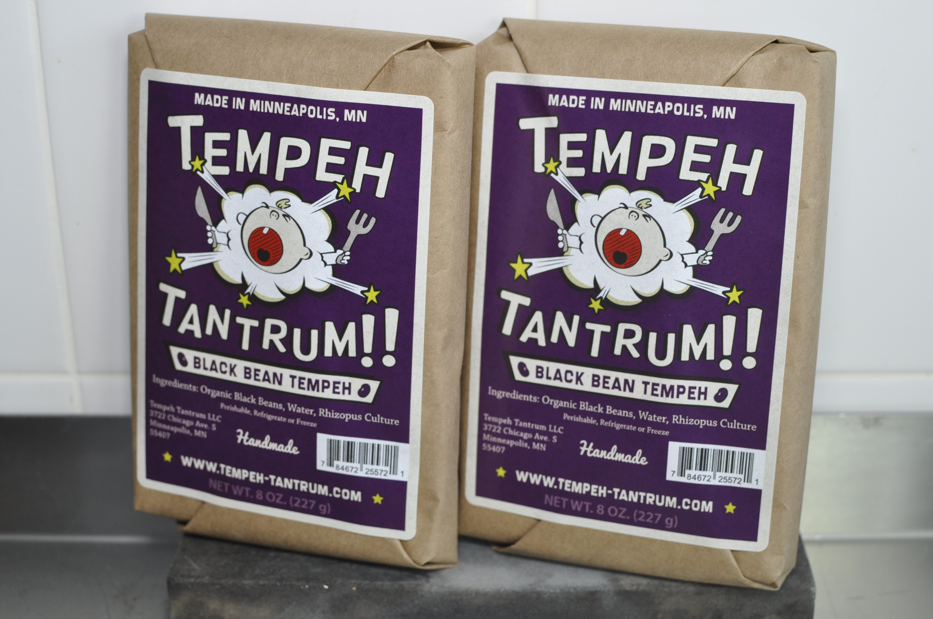 photo of packaged tempeh tantrum black bean tempeh