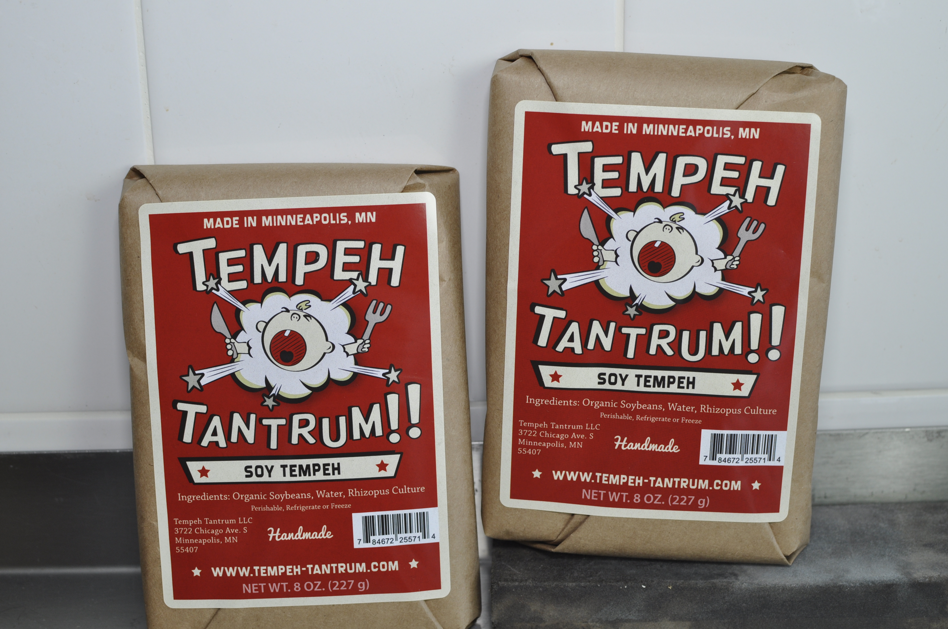photo of packaged tempeh tantrum soy tempeh